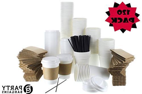 jumbo white coffee cups insulated