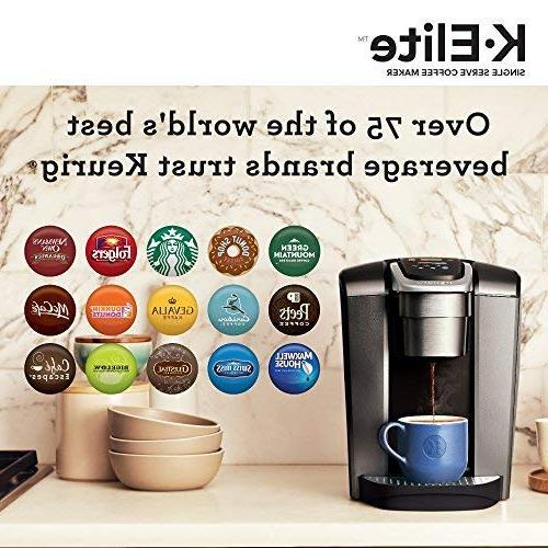 Keurig Serve K-Cup Pod Coffee with Strong Temperature Control, Iced Coffee Capability, Brew Programmable,