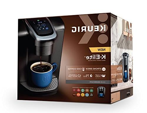 Keurig K-Elite K-Cup Pod with Strong Temperature Iced Coffee Capability, Brew Programmable, Slate