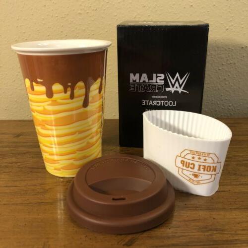 kofi kingston travel coffee mug slam crate