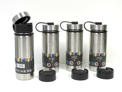 LOT 4 Stainless Travel Mug 18 Insulated