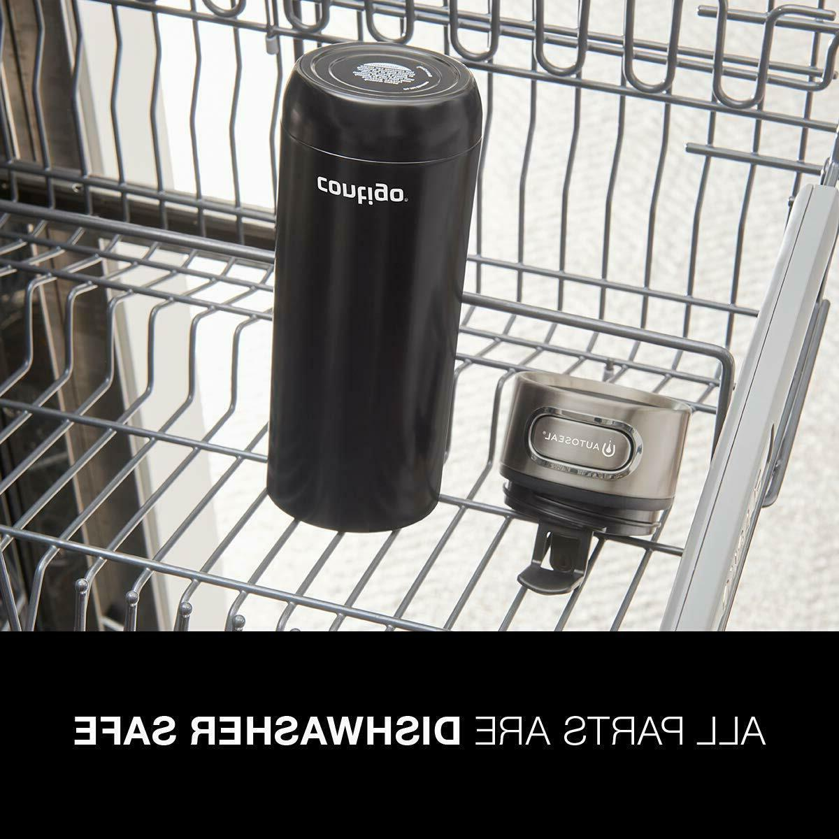 Contigo Luxe Stainl. Steel Travel Mug, oz, Bis