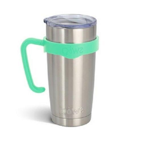 mint green travel mug handle for 20