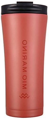 Mio Marino Thermal Coffee Travel Mug Stainless Steel - Leak