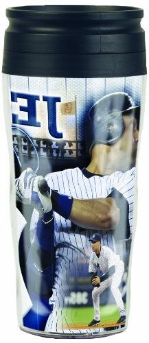 MLB New York Yankees Derek Jeter 16-Ounce Travel Mug