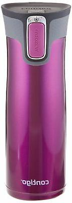 Travel Mug with SnapSeal Lid Stainless Steel Thermos Coffee