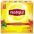 Lipton Natural Black Tea Bags Individually Wrapped  Serve Ho