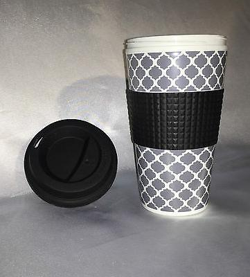 NEW 16 Travel Tumbler Coffee Tea DOUBLE WALL Design