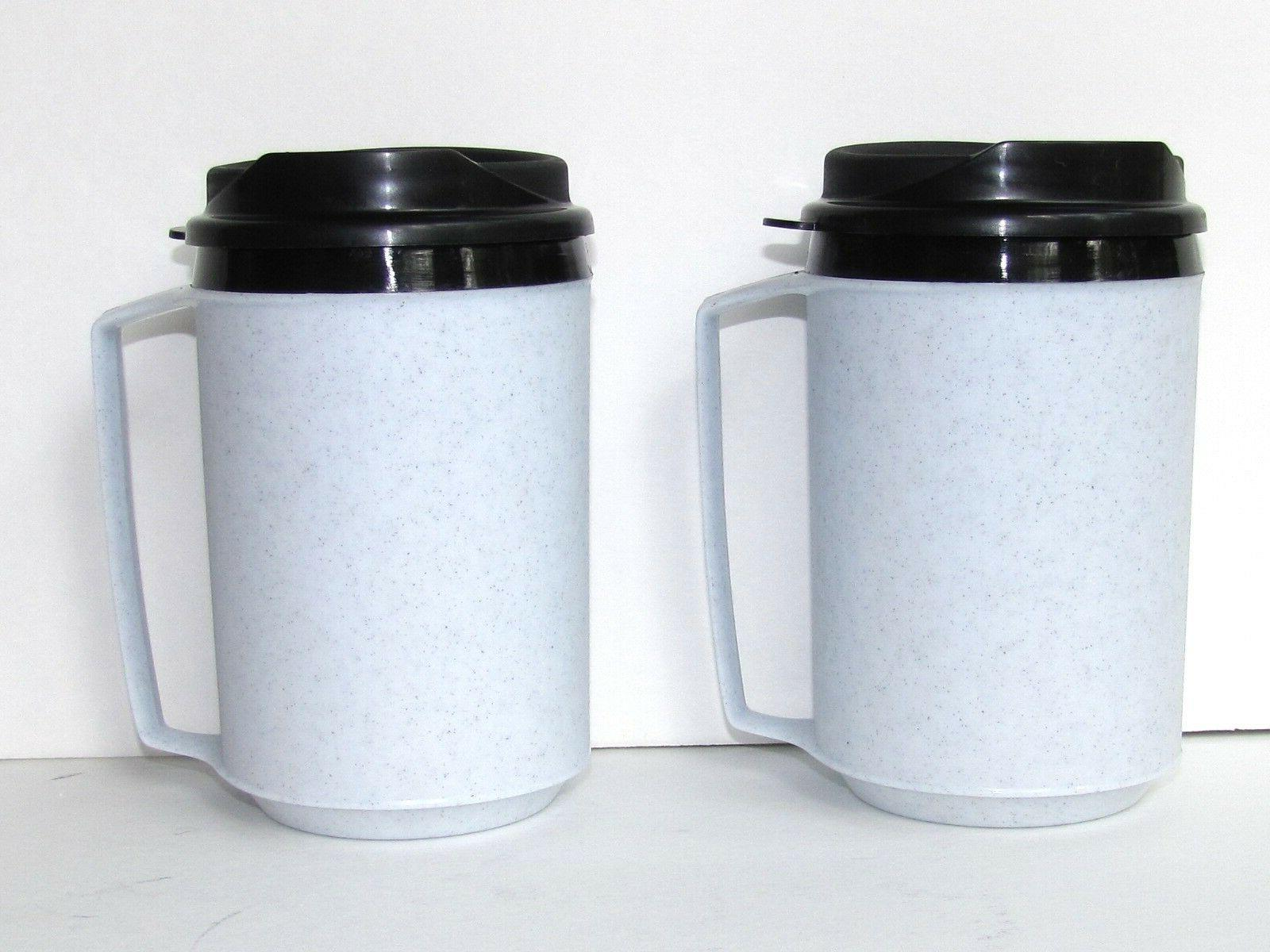 NEW 2 Insulated Coffee Mugs Classic Aladdin Molds by ThermoS