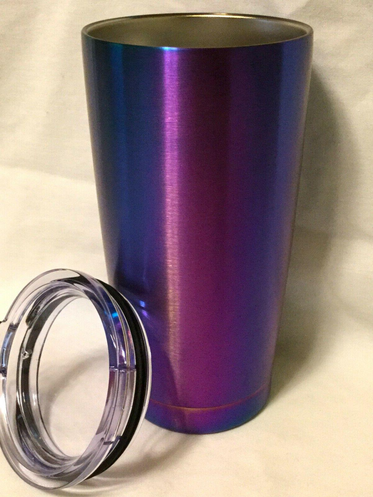 NEW Coffee Like Yeti Travel Iridescent Blue 20 oz
