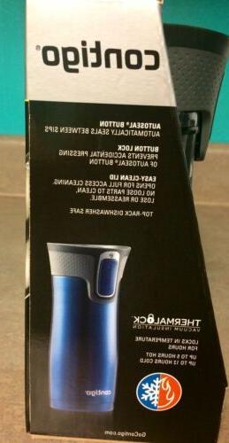 New box 2 pack Mugs Stainless