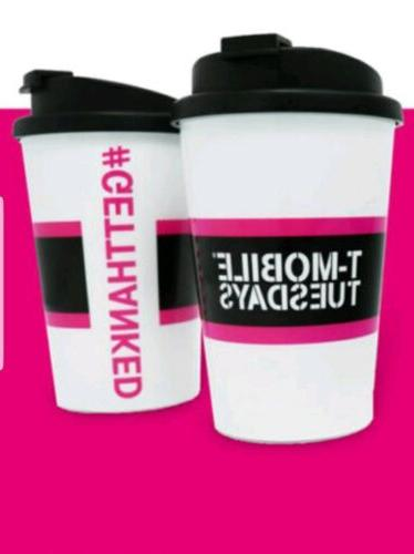 new t mobile travel mug cup w
