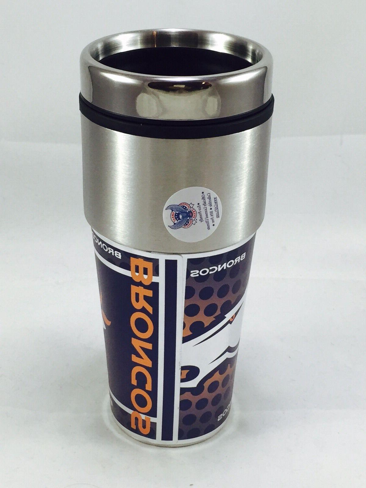 NFL Broncos Wrap Fan Coffee Mug