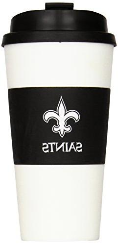 NFL New Orleans Saints Sleeved Travel Tumbler, 16-Ounce