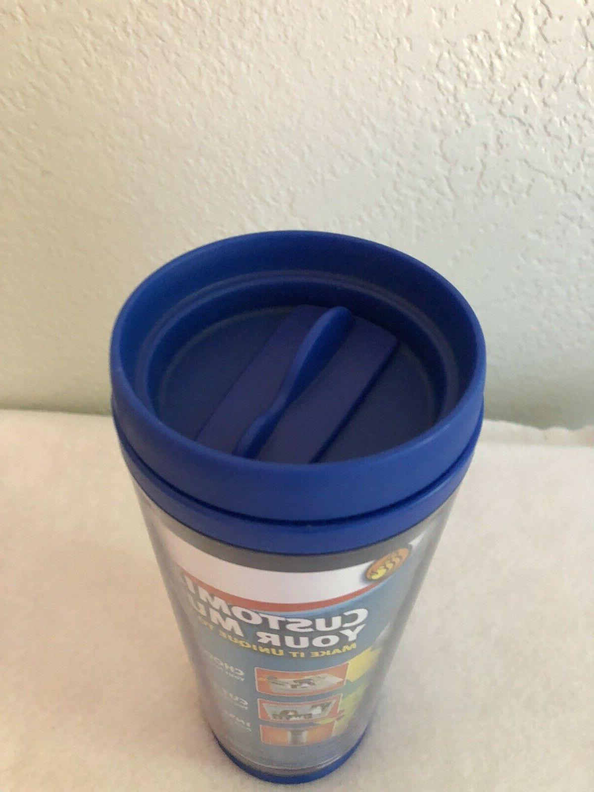 NOS Aladdin Scrapbook Tumbler 16 Mug Coffee -2006