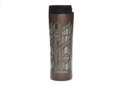 nwt panama insulated travel mug stainless steel