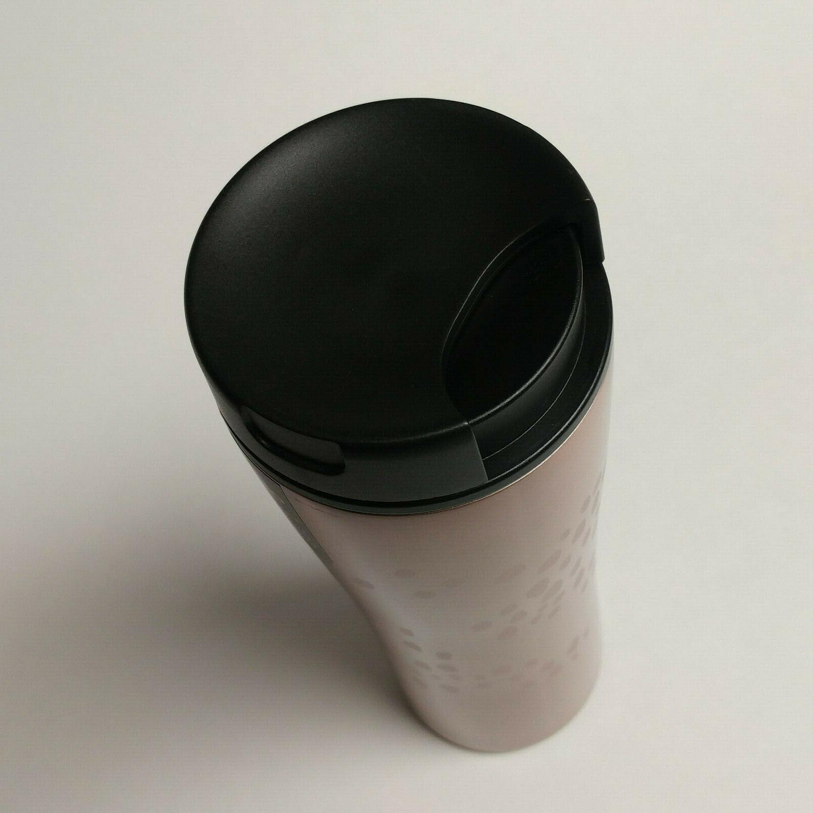black 16oz travel tumbler cup Cafe