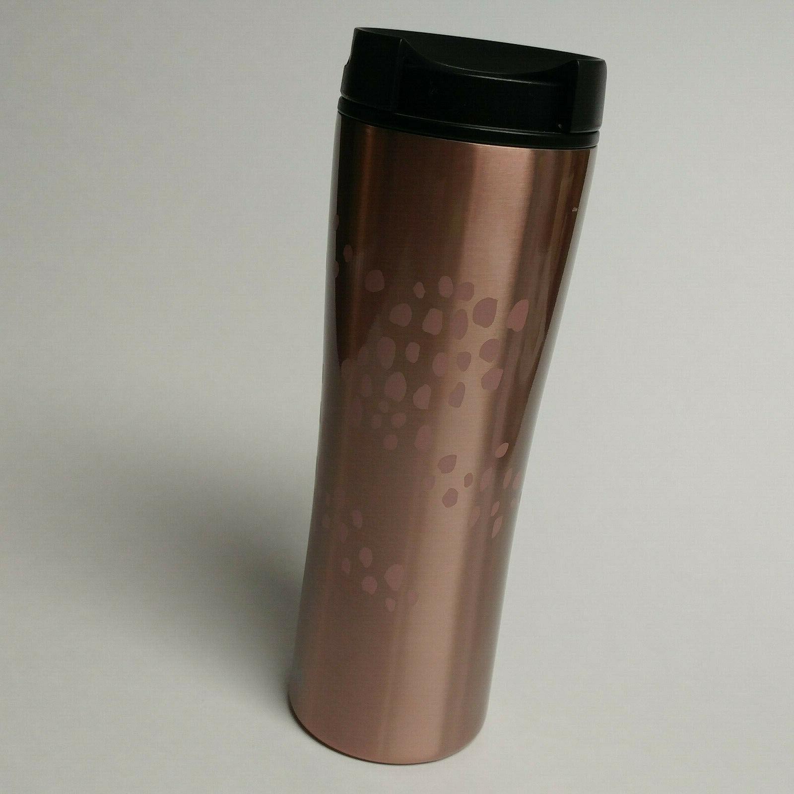 NWT black 16oz tumbler cup Cafe coffee