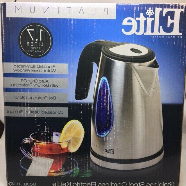 platinum cordless electric kettle
