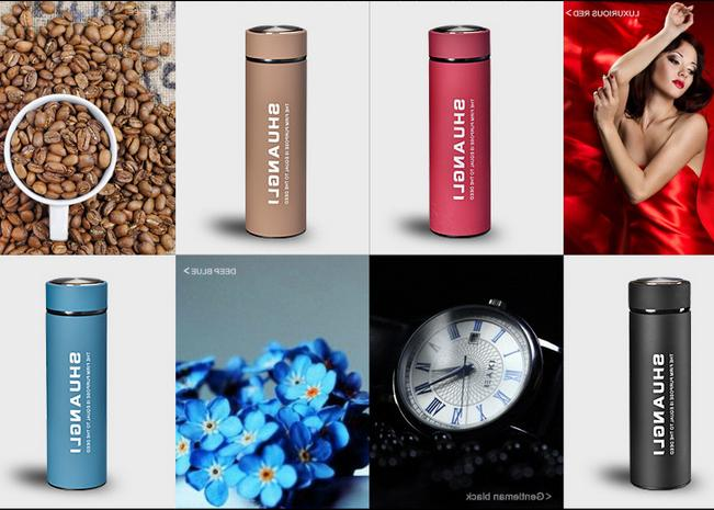 Portable Stainless Steel Mug Water Thermo Flask Bottle