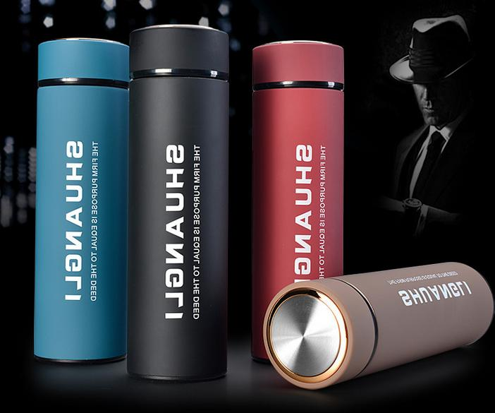 portable stainless steel travel mug water thermo