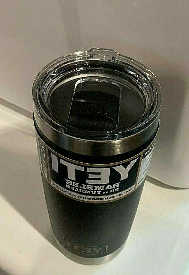 Yeti TUMBLER Sport Thermos Cup, Stainless Steel, Lid