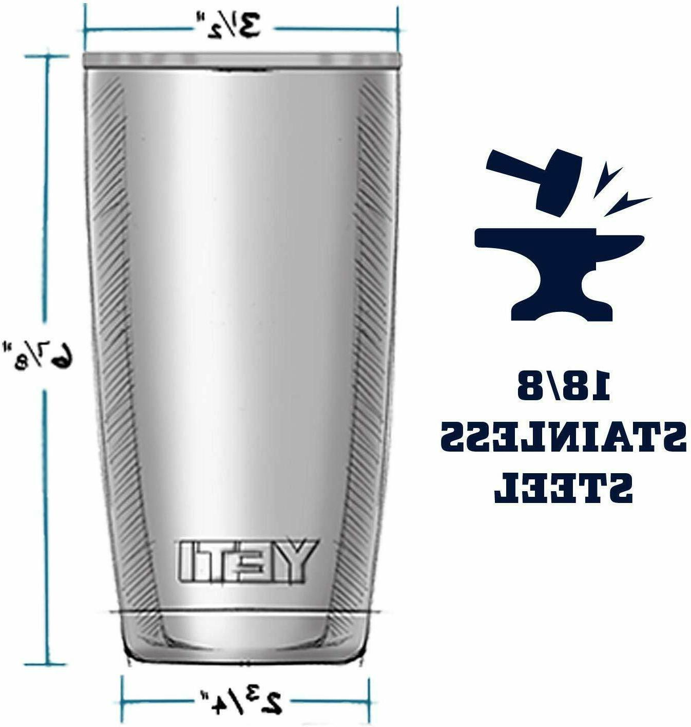 Yeti Coffee Insulated Cup Steel Travel Ounces