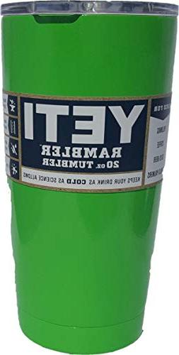Yeti Rambler Tumbler 20-ounce, Stainless Steel, with New Mag