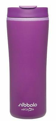 Aladdin Recycled and Recyclable Leak Proof Travel Mug, Purpl