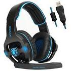 Sades SA903 USB 7.1 Surround Sound Stereo Gaming Headset wit