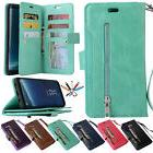 For Samsung Galaxy Note 9/S8/S7 Phone Case Cover Card Wallet