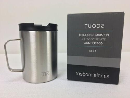 Simple Ounce Stainless Steel Insulated Travel Coffee