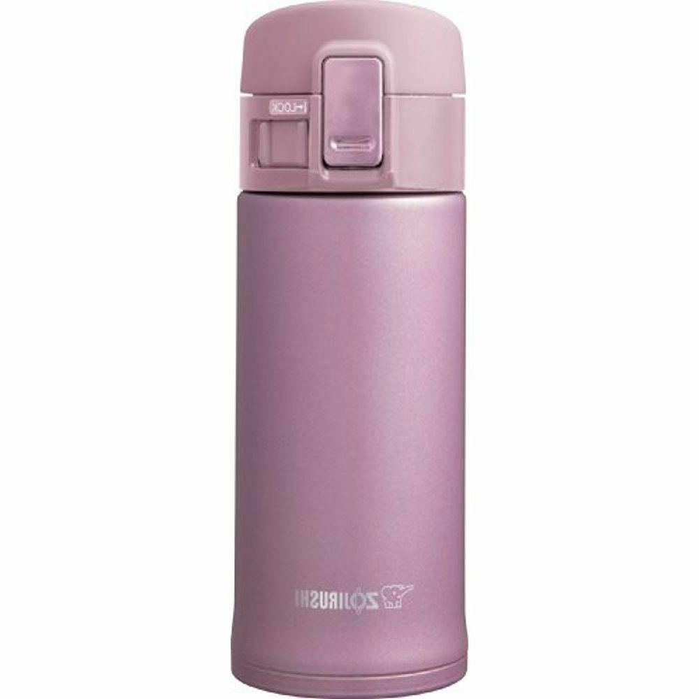 Zojirushi SM-KHE36PT Stainless Mug, 12-Ounce, Lavender Pink
