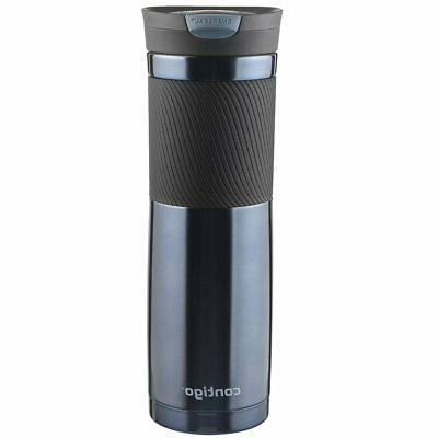 Contigo SnapSeal Byron Stainless Steel Mug, 16 oz, Proof !
