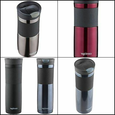 snapseal byron stainless steel travel mug 16