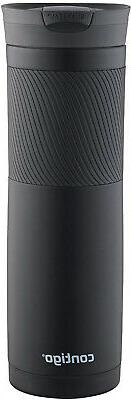 Contigo SnapSeal Byron Stainless Steel Travel Mug Assorted C