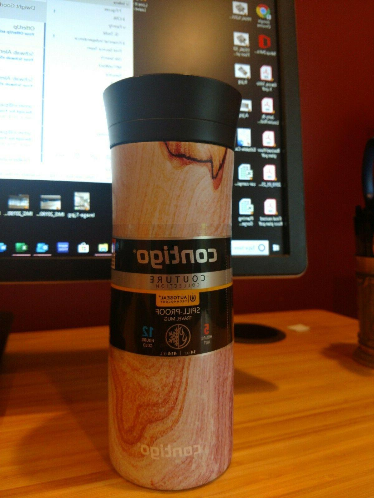 Contigo  Spill-proof travel Mug