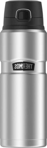 Thermos Stainless King 24 Ounce Drink Bottle, Steel