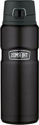 Thermos Stainless King 24 Ounce Drink Bottle, Matte Black SK