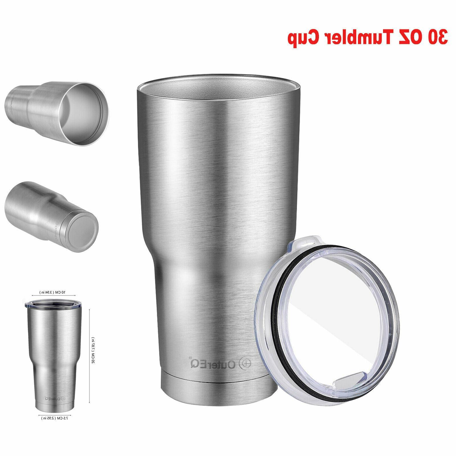 stainless steel coffee cup travel mug 30oz