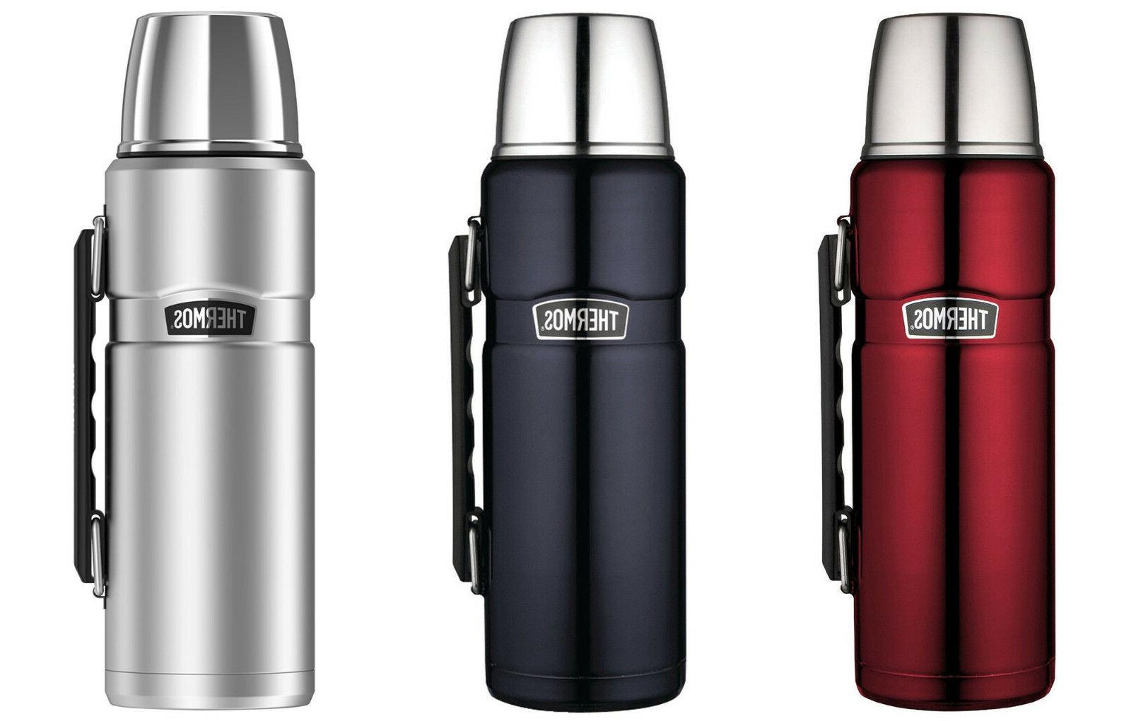 Thermos Stainless Steel King 40-Ounce Beverage Bottles