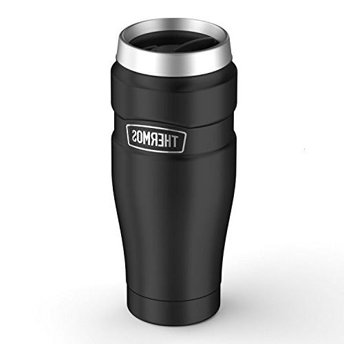 Thermos Stainless Steel 16 Black