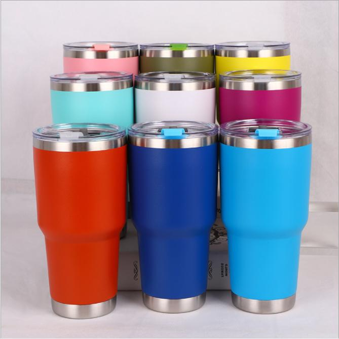 stainless steel mug cup insulated travel double
