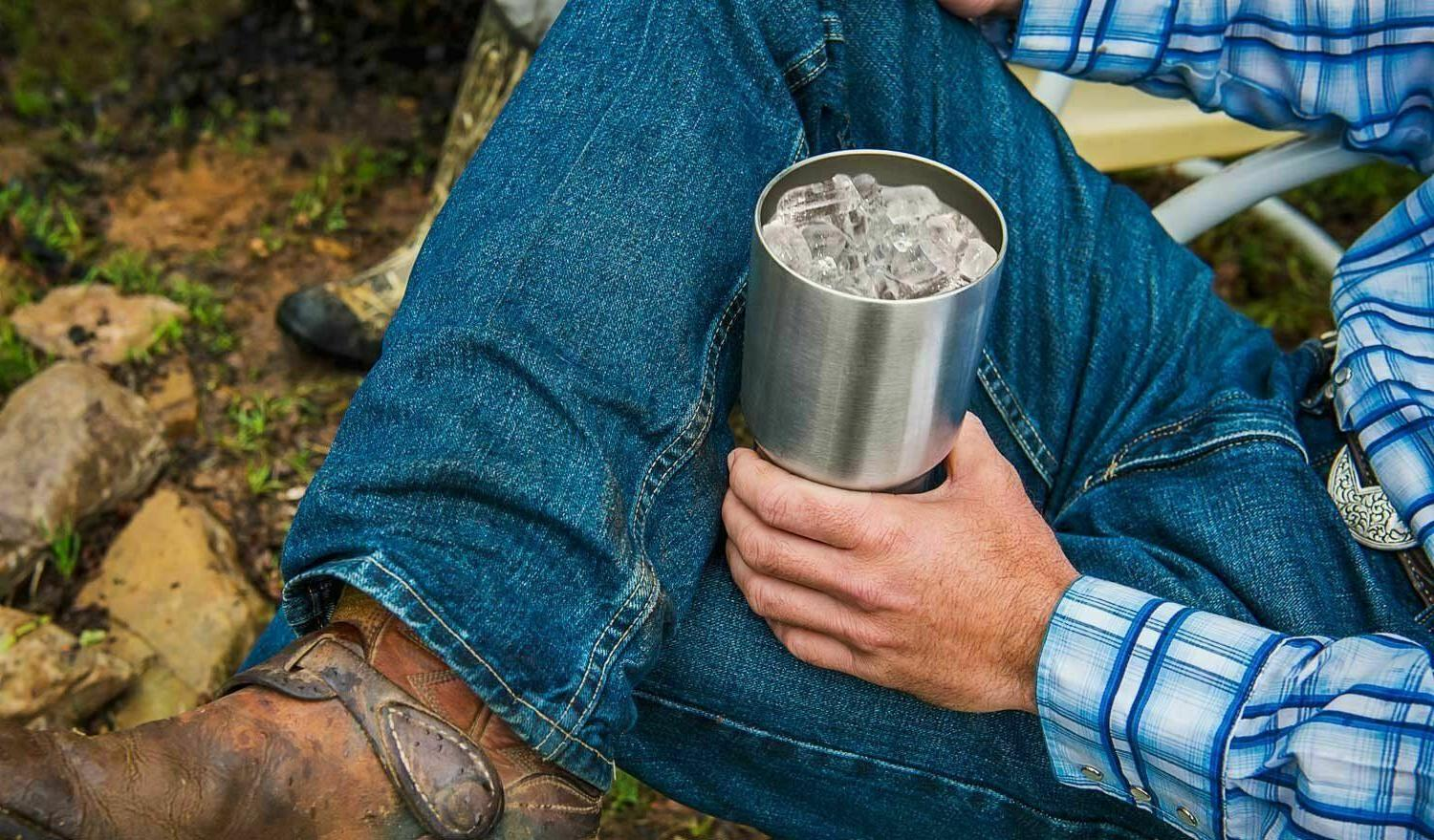 Stainless Steel 30 oz Travel Gift