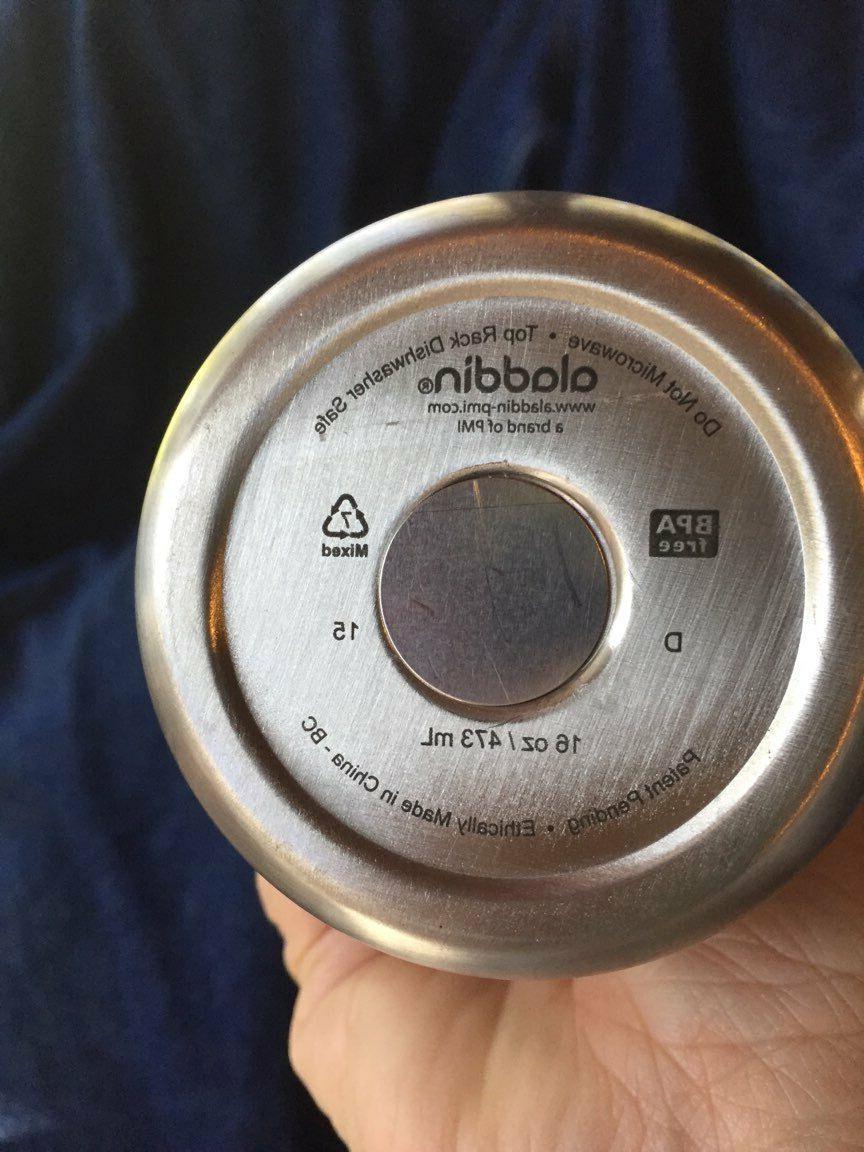 Insulated Mug 16oz safe