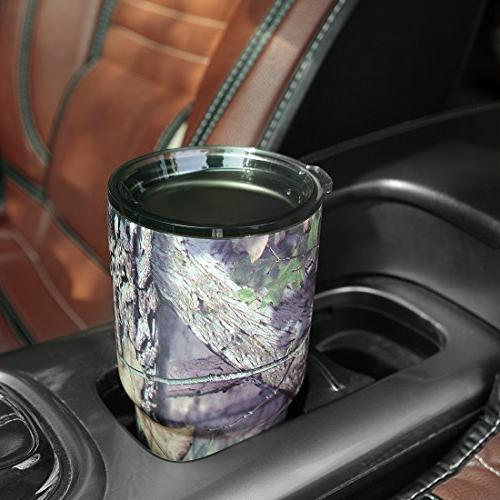 Mossy Oak Camo Tumbler, Stainless Vacuum Insulated 30