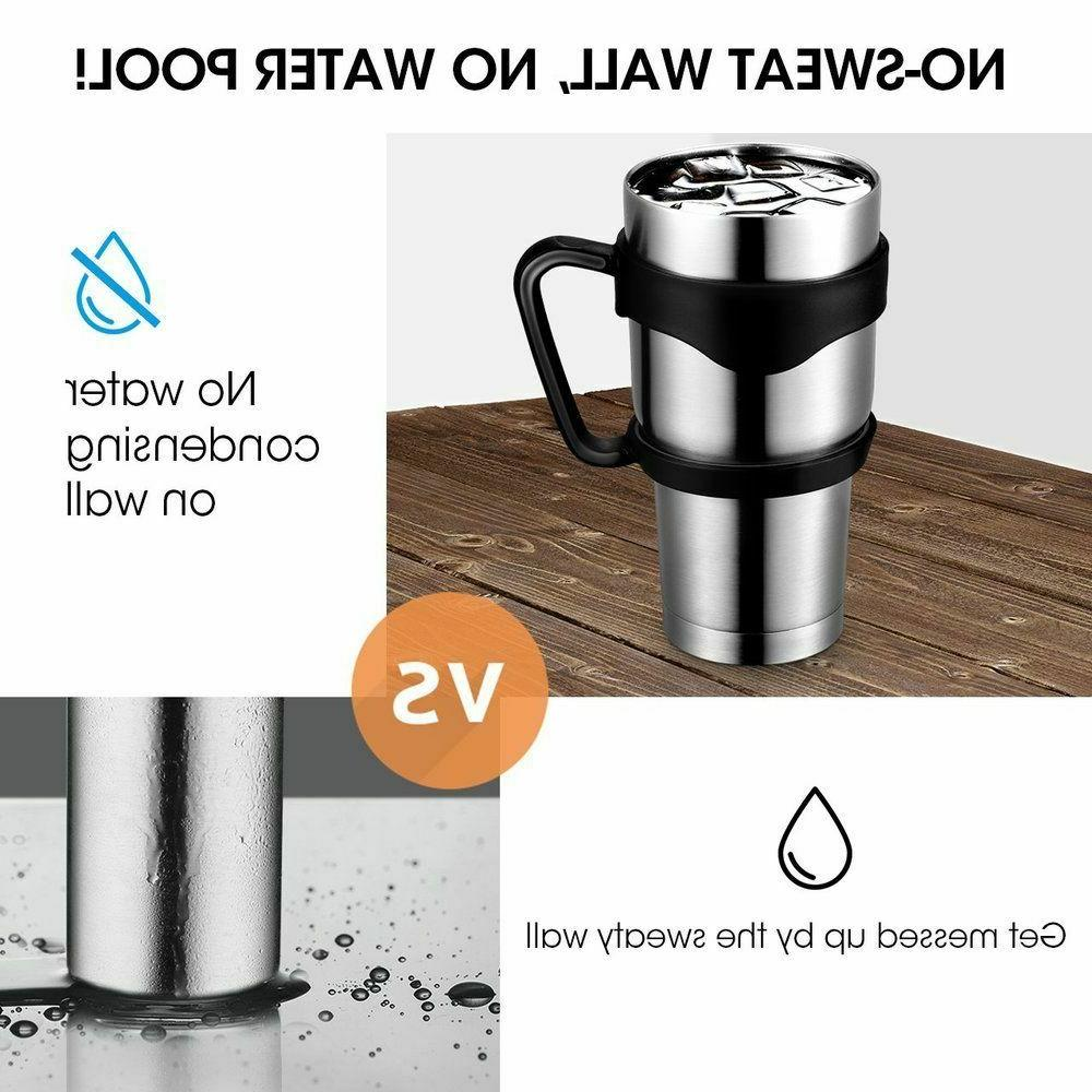 Stainless Steel Vacuum Insulated Lid Coffee Tea