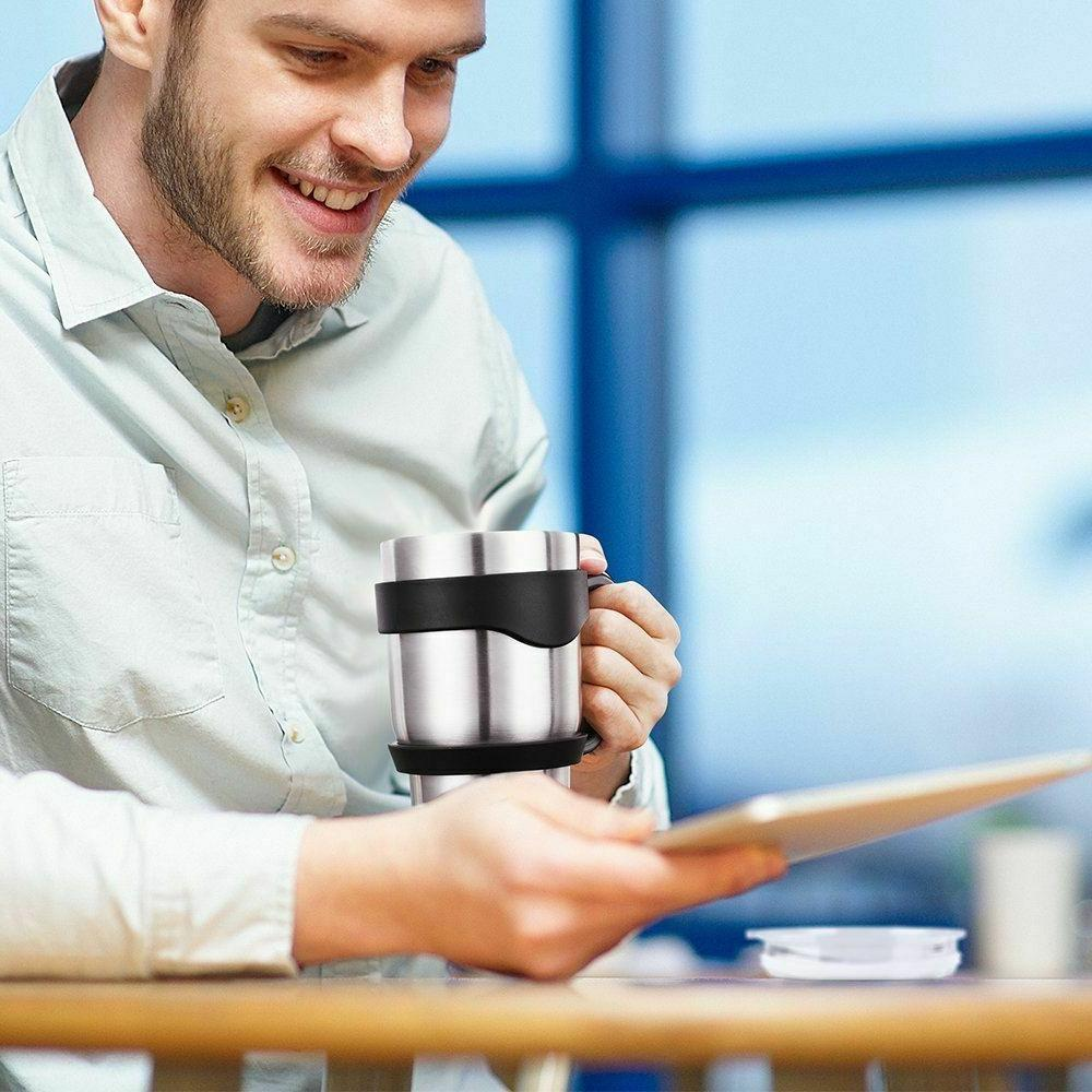 Insulated Lid Cup Coffee Tea Double