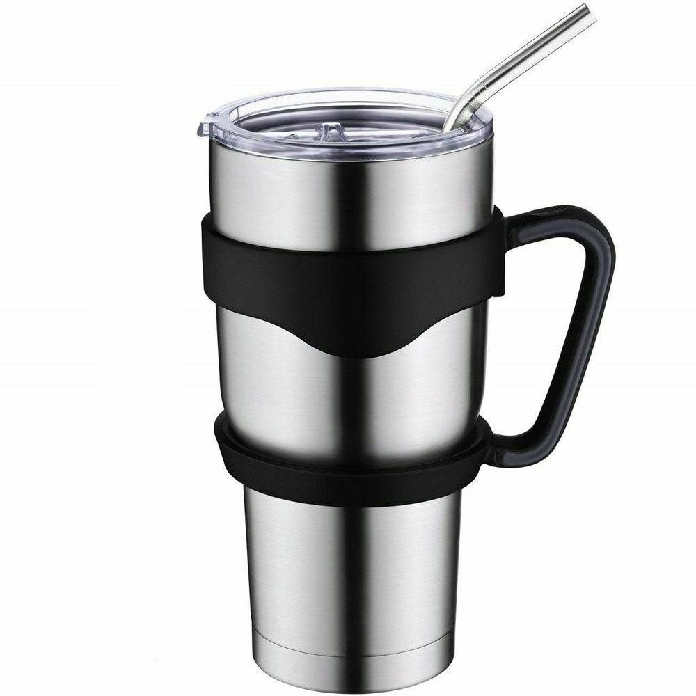 stainless steel vacuum tumbler insulated lid cup