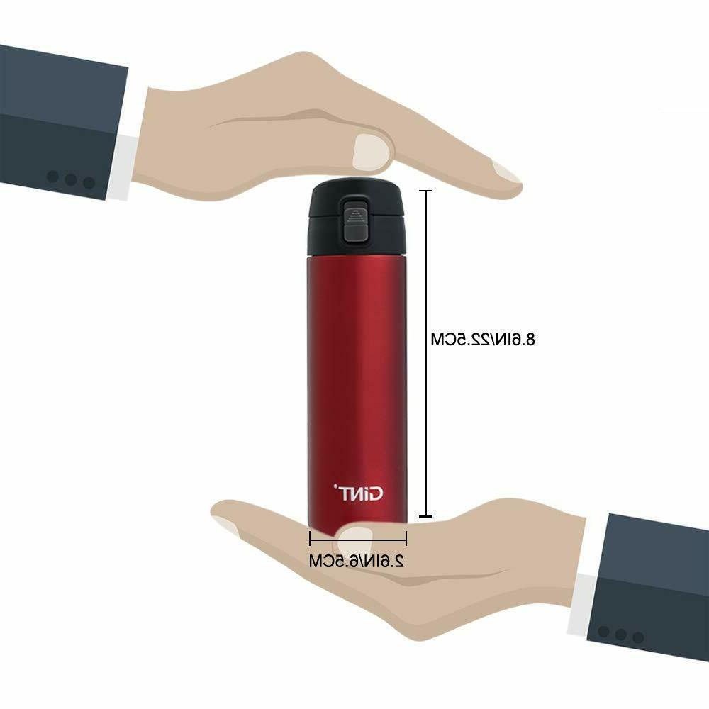 Stainless Thermos Bottle Travel Hot 12 Hours 24 Hours